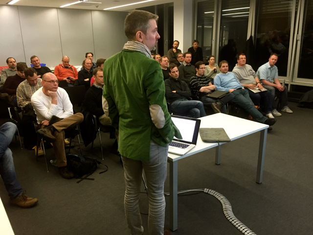 Alexander Knöller berichtet über Datenreplikation
